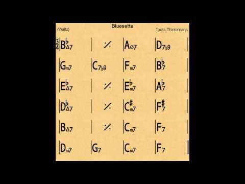 Bluesette - Backing track / Play-along