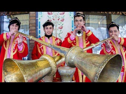 Карнай сурнай на уйгурской свадьбе