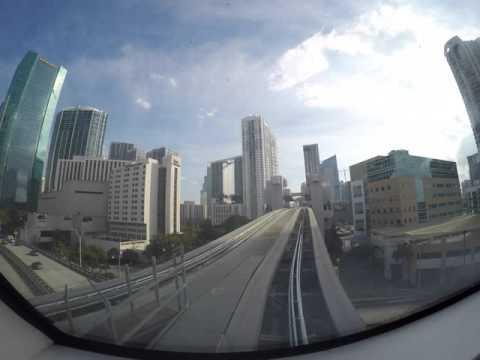 Miami MetroMover Timelapse