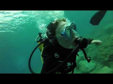 Scuba diving and jet ski Lanzarote