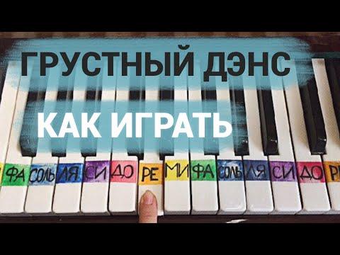 Artik & Asti Feat. Артём Качер - Грустный дэнс (Tutorial By Jane Pi)