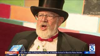 Dr. Demento and John Cafiero talk to KTLA about their Album