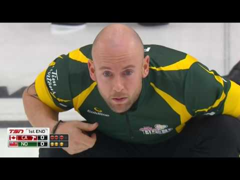 2017 Tim Hortons Brier - Jacobs (NONT) vs. Koe (CAN) - 3 v 4 Page Playoff