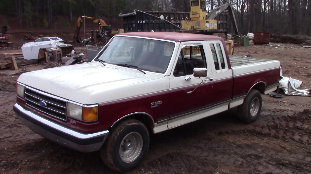 scrapped  ford  xlt lariat youtube