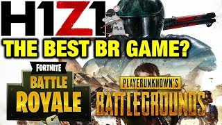 IS H1Z1 THE BEST BATTLE ROYALE GAME? PS4 BETA IMPRESSIONS