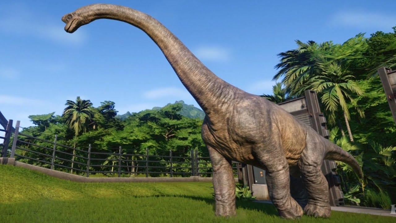 Dinosaur 3d Live Wallpaper Jurassic World Evolution Brachiosaurus Gameplay Ps4 Hd