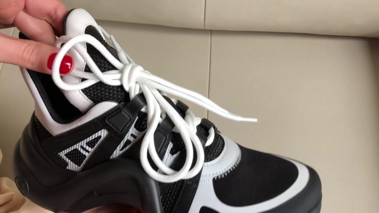 9efbaa0224b LOUIS VUITTON Archlight Sneaker Unboxing