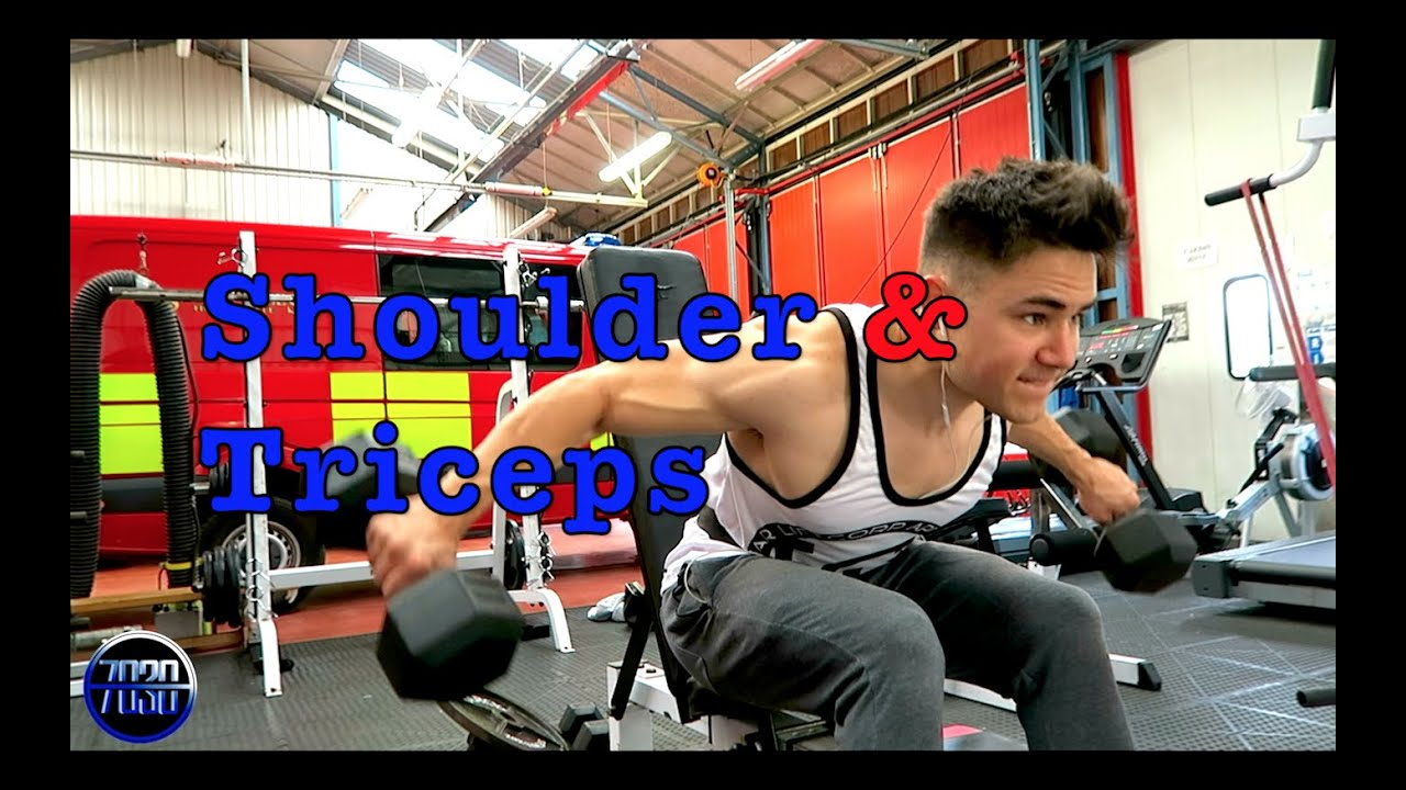 Shoulders and Triceps Workout - Hypertrophy - YouTube
