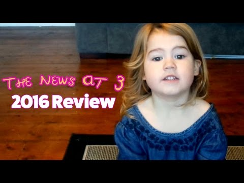 2016 Review - a Scottish three year old looks back..