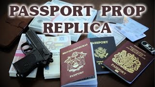 Passport Prop Replica (Flip Sequence) by Magnoli Props