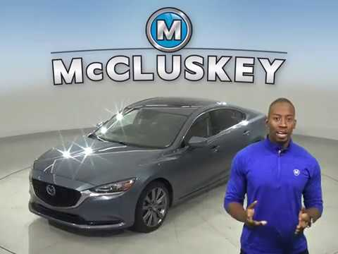 G16791TR Used 2018 Mazda 6 Blue Sedan Test Drive, Review, For Sale -