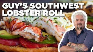 Guy Fieri's Southwest Lobster Roll | Guy's Big Bite | Food Network