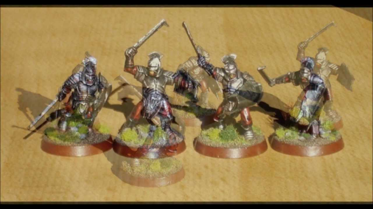 Lord Of The Rings Painted Games Workshop Figures Youtube