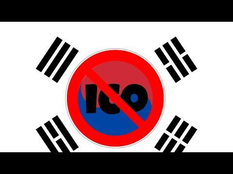 KOREA BANS ICO