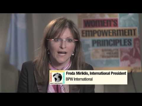 Women's Empowerment Principles: Equality Means Business (Short Version)