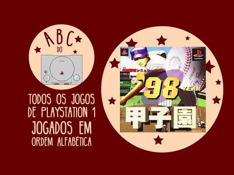 '98 Koushien - Koukou Yakyuu Simulation - Gameplay comentado em português [ABC do PS1]