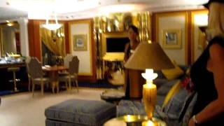 Take a tour inside the Presidential Suite at The Burj Al Arab hotel in Dubai, rated #1 in the world.