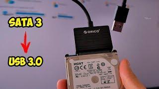 Адаптер Sata 3 на  USB 3.0 адаптер Orico