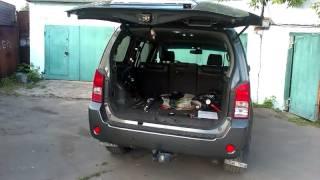 Открывание, закрывание багажника патфайндер.