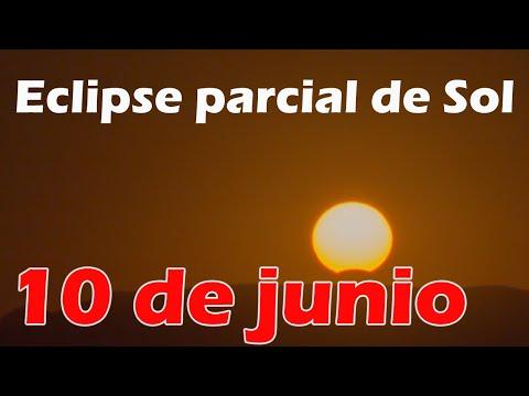 El eclipse parcial de SOL del 10 de junio de 2021 ?