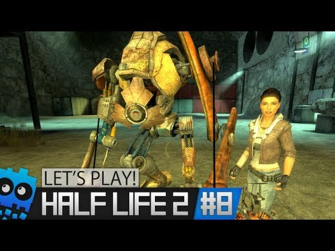 "Let's Play! - Half Life 2 - Part 8 ""Gravity Gun!"""