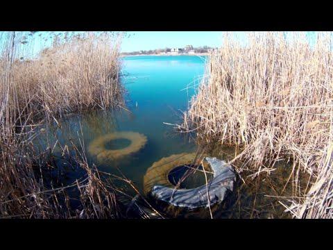 Рыбалка ранней весной 2020! Ловля на поплавок маховой удочкой!