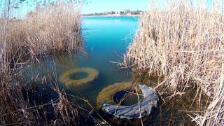 Рыбалка ранней весной 2020 Ловля на поплавок маховой удочкой