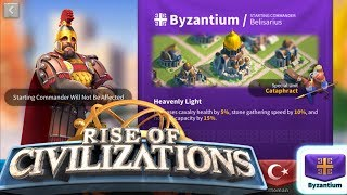Changing to Byzantium - Preparing for Ark of Osiris - Live - Rise of Civilizations