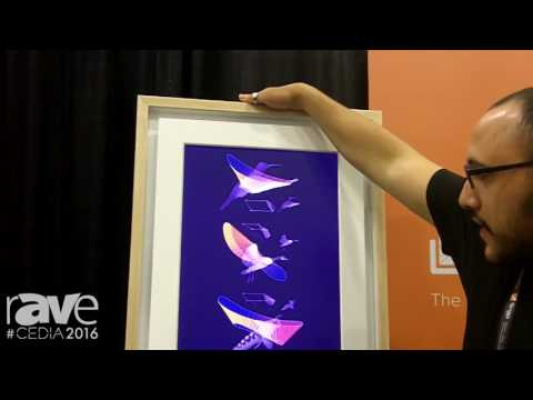 CEDIA 2016: Meural Features the Meural Digital Canvas