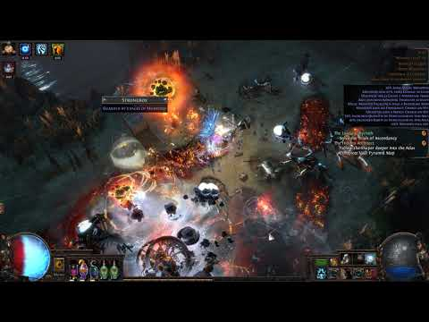 Path of Exile [3 5]: Cast on Cast with Armageddon Brand - YouTube