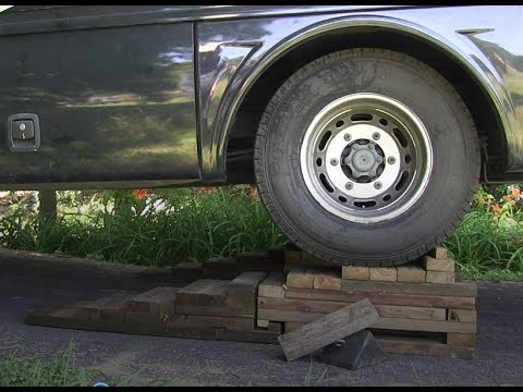 DIY RV or Truck Ramps for Dual Wheels
