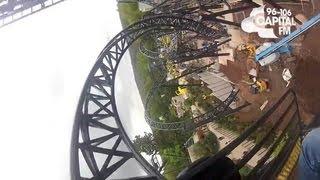 The Smiler POV Alton Towers World Record 14 Inversion Roller Coaster 2013