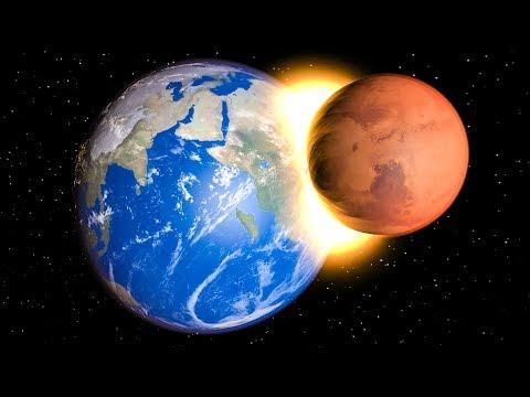Das Passiert, Wenn Der MARS Auf Die Erde Stürzt...