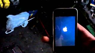 видео iPhone 3gs ошибка при восстановлении (-1)