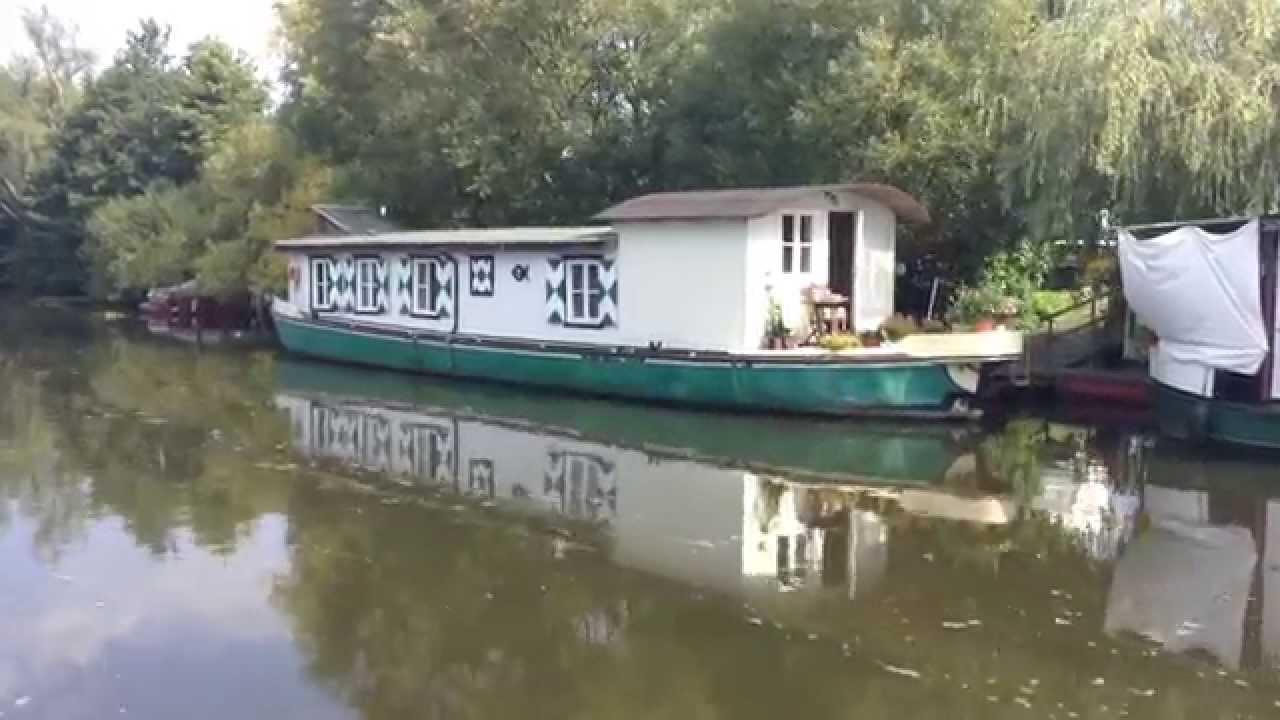 Hausboot Hamburg hausboote auf der dove elbe hamburg