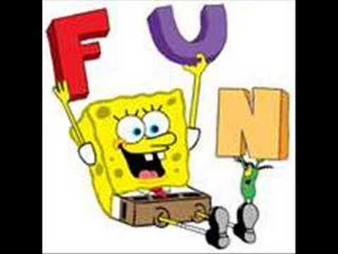 SpongeBob F.U.N Song Witt Lyrics XD