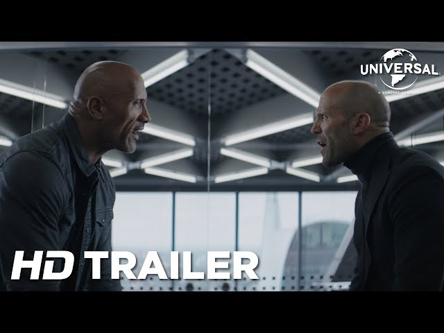Watch The Rock and Jason Statham take on Idris Elba in the
