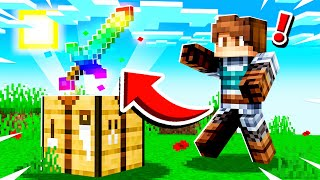 FINDING the RAINBOW SWORD in Camp Minecraft!