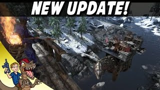 Ark New Update, Patch 243: Redwood Biome, Titanosaur, Wood And Metal Tree