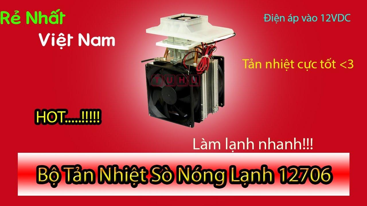 Chế máy làm lạnh nước cực kì đơn giản với sò nóng lạnh!!!!!