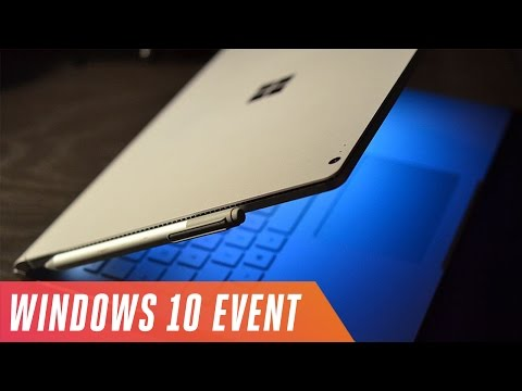 Microsoft's Windows 10 hardware event in 9 minutes