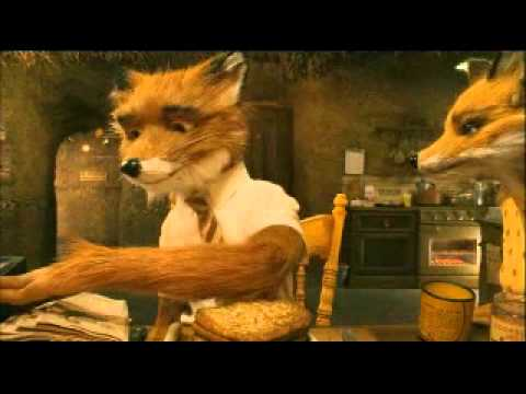 fantastic mr fox eating youtube