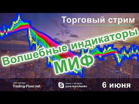 Волшебные индикаторы это МИФ. Торговый стрим. Торговля Forex в режиме онлайн.