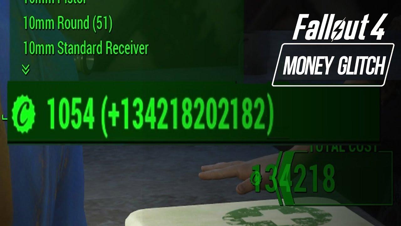 fallout 4 how get unlimited money infinite bottle caps exploit