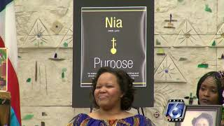 Community members celebrate the rich history of Kwanzaa