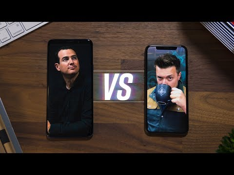 Galaxy S9 vs iPhone X: Part 1! [w/MrMobile]