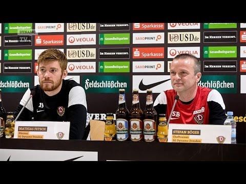 20. Spieltag | VFB - SGD | Pressekonferenz vor dem Spiel