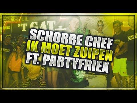 PartyfrieX - Ik Moet Zuipen Ft. Schorre Chef (Lyric Video)
