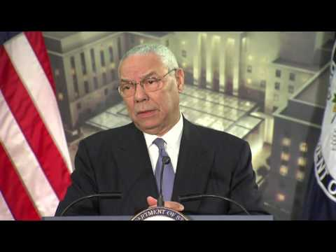 Remarks by 65th Secretary of State Colin L. Powell