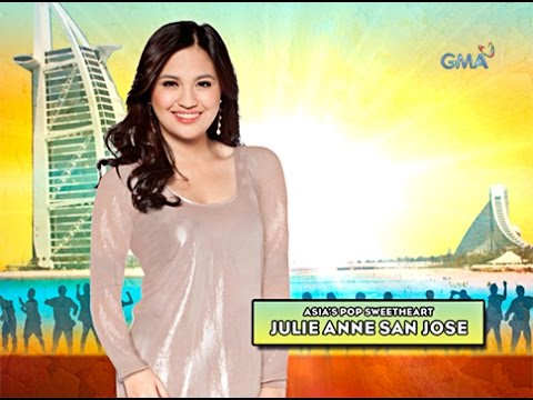 Jam with Julie Anne San Jose in Dubai